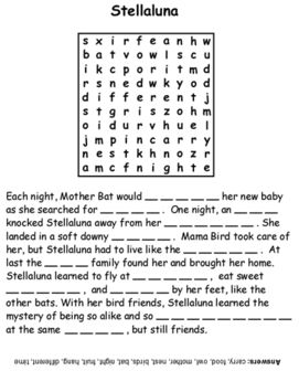All Worksheets » Stellaluna Worksheets - Free Printable Preeschool ...