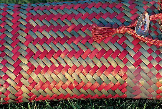 New_Zealand;weave;weaving;flax_weaving;bag;crafts;maori_culture;kete;NZ