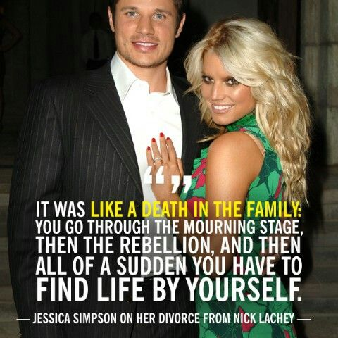 Jessica Simpson on her divorce from Nick Lachey