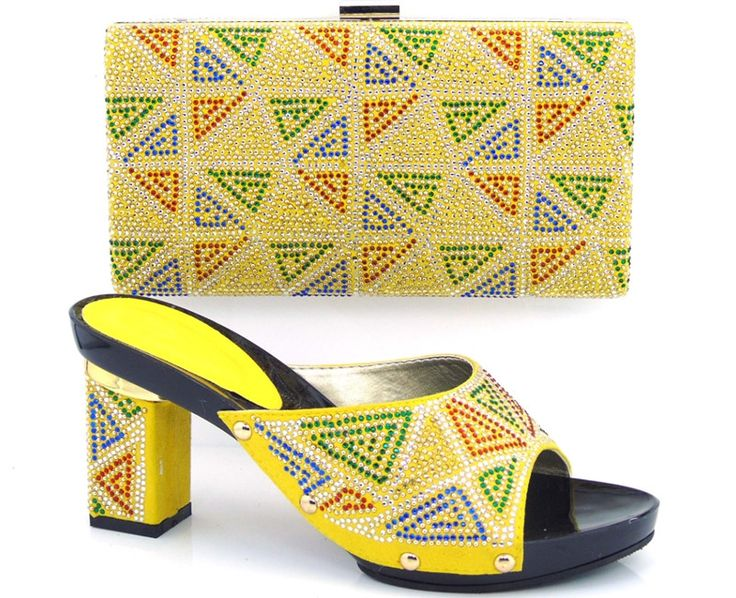 63.36$  Buy here - http://ali0lm.shopchina.info/go.php?t=32656822385 - yellow!Factory direct sales Free Shipping high quality Italian shoes and bags to match women /Fashion ladies shoes. ZA1-9  #magazineonlinewebsite