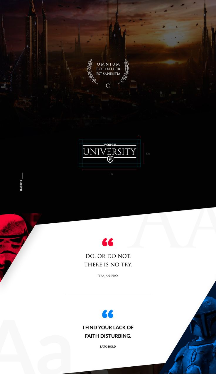 If Jedis & Siths could be able to study in a University...what would happen? This is the result. Brand, Web & Virtual Campus concept. In collaboration with Carlos Pariente & Pablo…