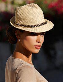 Damen Strohhut - mit einem Hut werden Sie zur Styling-Queen - www.image50plus.de