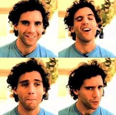 """Generally, when love changes, and we give love the opportunity to change, then it has the opportunity to keep going"" -MIKA (stills from a video message to a fan who won a contest)"