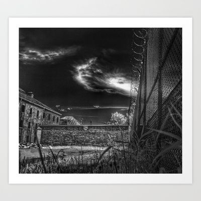 Jail Art Print by Jean-François Dupuis - $19.76