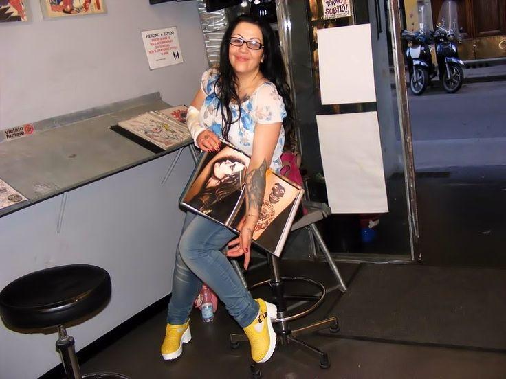 Vlog: Nuovo tatuaggio per la Strega