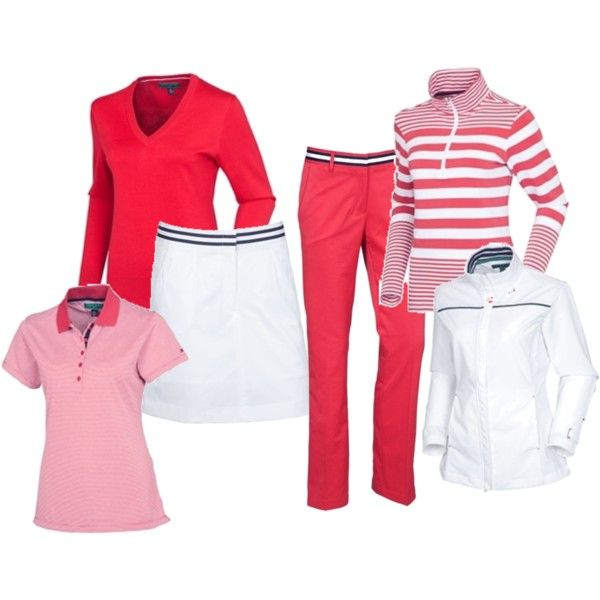 Rock the red this Valentine's Day with Tommy Hilfiger Golf for women