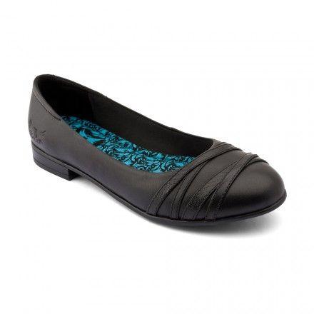 Dress Up, Black Leather Girls Slip-on School Shoes - Girls School Shoes - Girls Shoes http://www.startriteshoes.com/girls-shoes/school-shoes/dress-up-black-leather-girls-slip-on-school-shoes