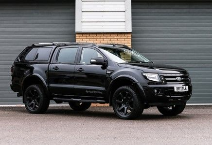 "RANGER WILDTRAK 3.2 TDCi AUTOMATIC ""RICH BRIT – NEMESIS EDITION"" DOUBLE CAB PICK UP + ALPHA GSE CANOPY TOP (2015MY) - Brittle Motor Group"