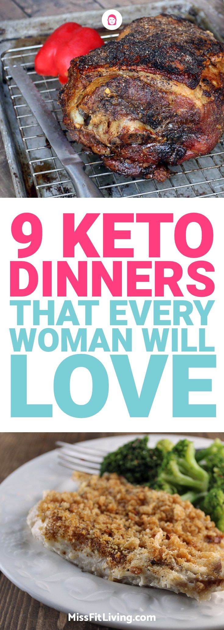 Looking for some keto dinners? Here are 9 of my favorite ketogenic diet meals to prepare at night.