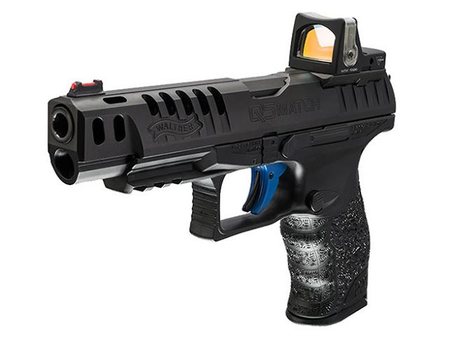 Walther's New Q5 Match 9mm Pistol Find our speedloader now! http://www.amazon.com/shops/raeind