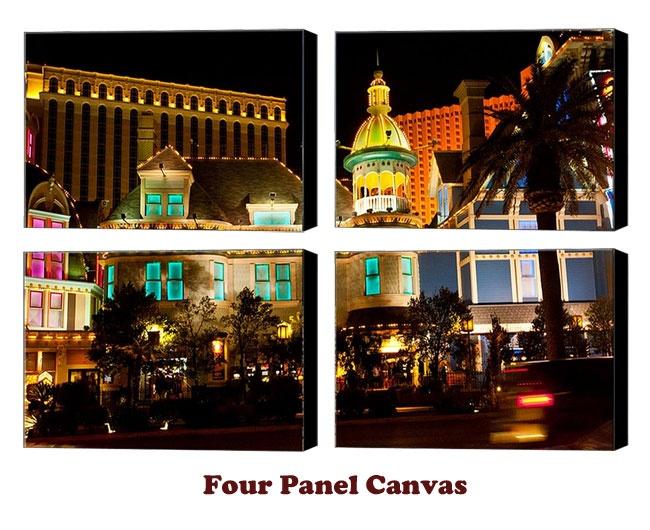 Four Panels Gallery Wrap Canvas Print #four #Panel #Canvas #prints #printing #Print #gallery #wrap