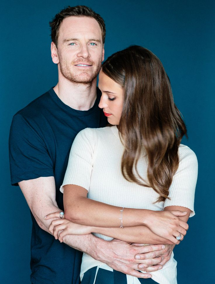 "Michael Fassbender and Alicia Vikander, the stars of Derek Cianfrance's new film, ""The Light Between Oceans."" Bryan Derballa for The New York Times"