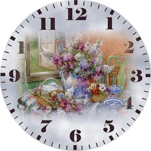 (21) Gallery.ru / Foto # 53 - Los diales durante horas. Esquemas para el bordado…