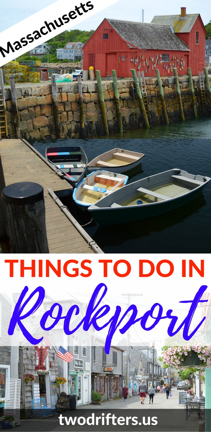Shopping, dining, art. There's so much to explore in Cape Ann. This list of things to do in Rockport MA will keep you busy during your New England vacation.