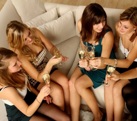 10 Awesome Girls Night hosting ideas! .. Get the girls together and have some fun!