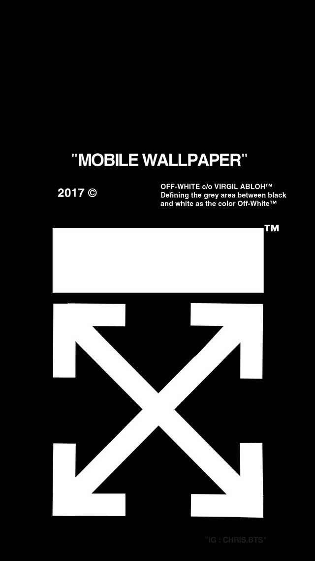Mobile Wallpaper Made By Ig Chris Bts Iphone Wallpaper Off White Wallpaper Off White White Wallpaper For Iphone
