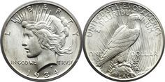How To Grade Peace Silver Dollars - Peace Dollar Grading Pictures