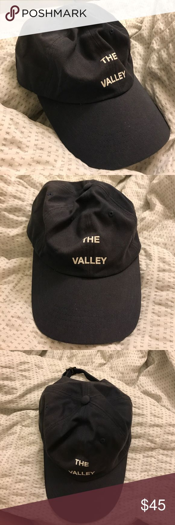 Antisocial Social Club The Valley Hat ASSC the valley hat in navy blue Anti Social Social Club Accessories Hats