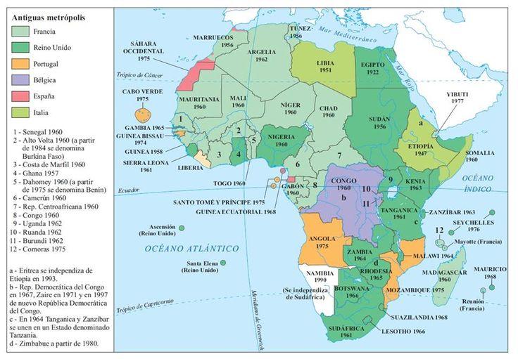 25. La descolonización de África