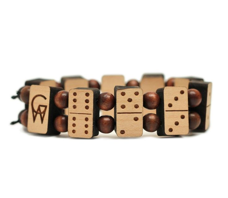 GoodWoodNYC - Domino Bracelet Natural, $40.00 (http://www.goodwoodnyc.com/domino-bracelet-natural/)