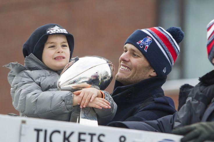 Benjamin Brady in New England Patriots Victory Parade