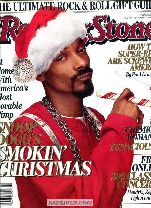 Rolling Stones magazine - Snoop Dogg