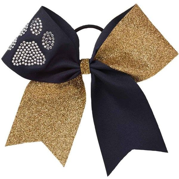 Stunt Bow | Custom Cheer Bows | Team Cheer ($12) ❤ liked on Polyvore featuring accessories, hair accessories, cheerleading, hair bow accessories and rhinestone hair accessories