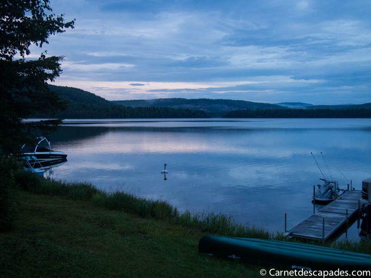 Souvenir du Québec - Mon chalet au bord du lac Deschênes - Carnet d'escapades