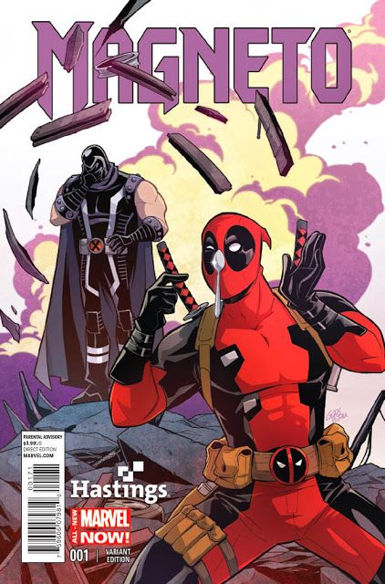 Deadpool Bugle: Magneto #1 Deadpool Variant Cover - Hastings Exclusive