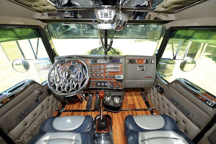 Truck Interior Big Trucks Big Rig Trucks