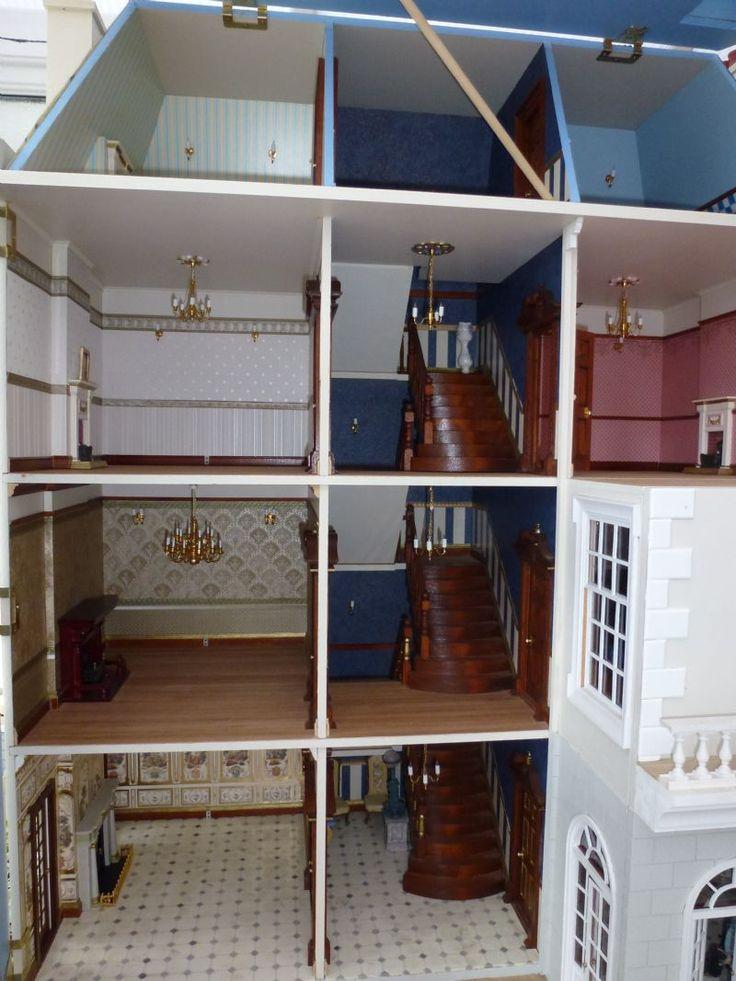 For Sale - Beautifully Extended dollshouse - The Dolls House Exchange