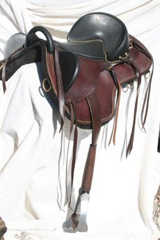 Bareback saddle.  Now this is a nice one, and would be comfy for the horse.