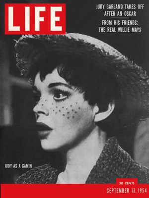 life magazine covers in 1950s Judy Garland