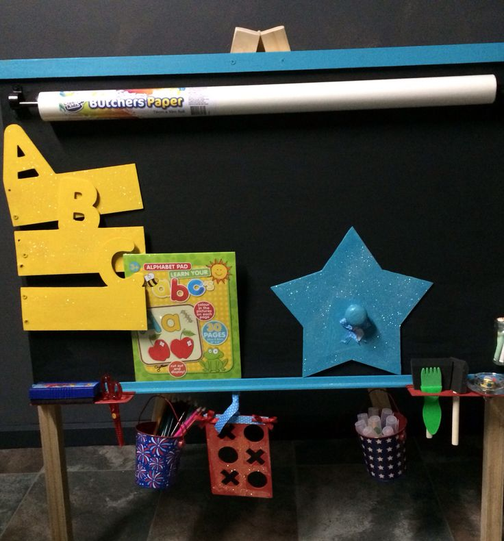 Pre orders are being taken as of now for Xmas  Perfect gift one stop art and learning activity board!!!! Includes all stationary plus learning activity cards  Hang cards daily on the ABC panels  Includes  Pencils  Markers  Crayons Erasers  Paint brush set  Paper roll  Water jar  Stencils  Learning activity set  Chalk  Chalk board   With stand $200  without stand $155  Great for small areas in the home like hallways  Outdoor and indoor use…