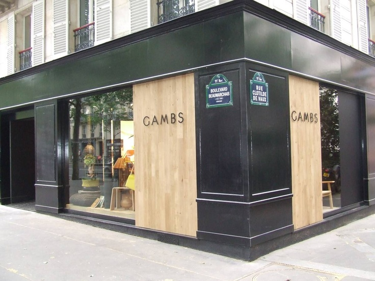 Urban hipster store front retail storefronts for Showroom cuisine paris