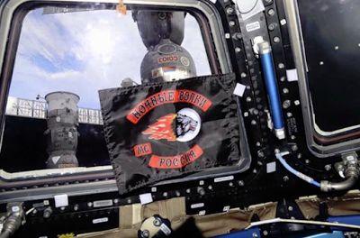 BIKER NEWS: Night Wolves Biker Gang Flag Flown In Russian Segment of Space Station ~ Bikers News Network
