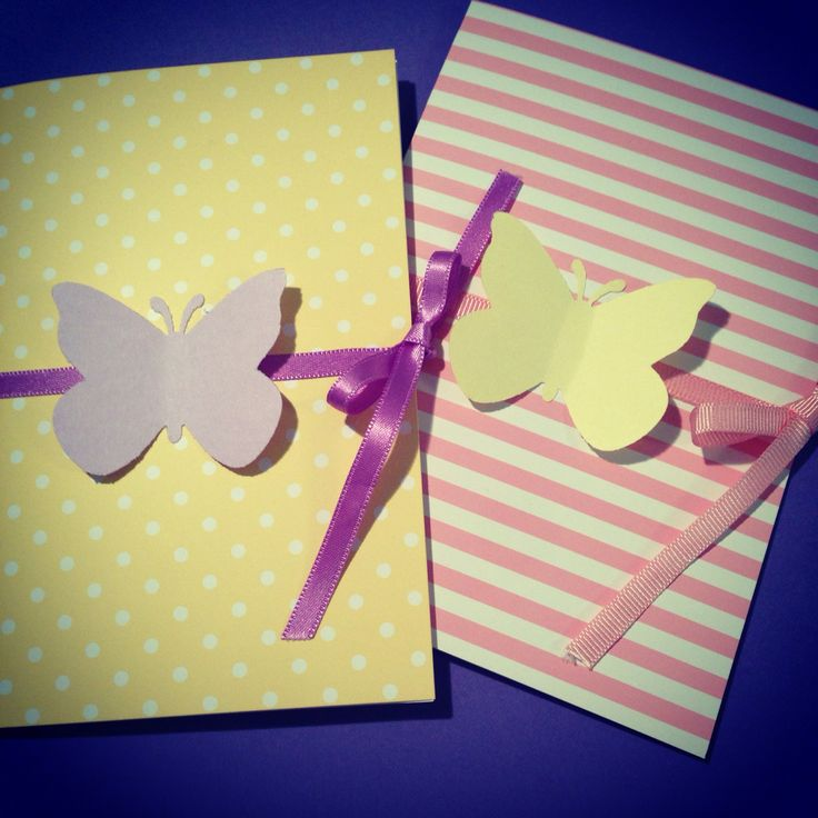 "Greeting cards ""Butterflies"""