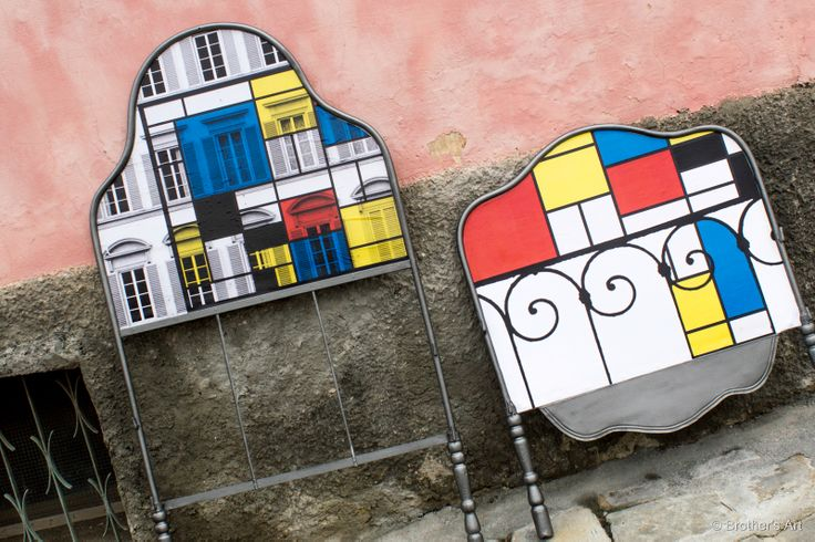 fusion #Brother's Art and #Mondrian