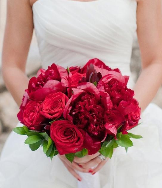 Bridal Hand Flowers