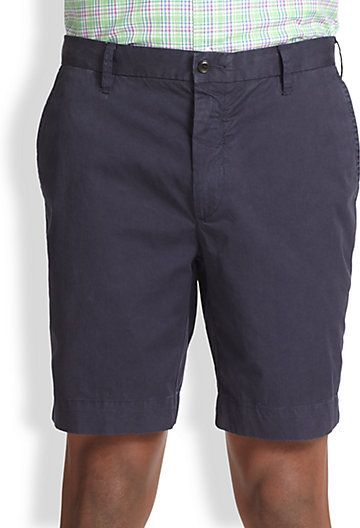 $44, Straight Fit Newport Chino Shorts by Polo Ralph Lauren. Sold by Saks Fifth Avenue. Click for more info: http://lookastic.com/men/shop_items/56511/redirect