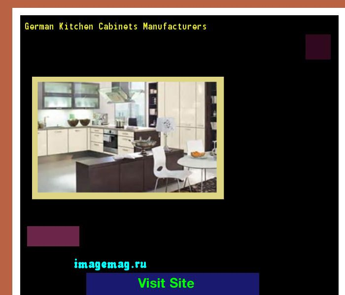 German Kitchen Cabinets Manufacturers 101631 - The Best Image Search