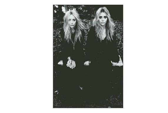 Buy 2 Get 1 Free-Modern cross stitch pattern-PDF pattern-portrait-celebrity-Mary-Kate Olsen-Ashley Olsen-Twin-Best gift-Instant Download