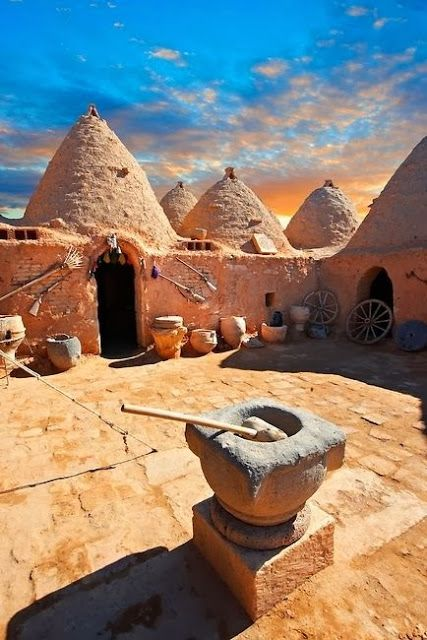Beehive Houses In Anatolia, Turkey ...