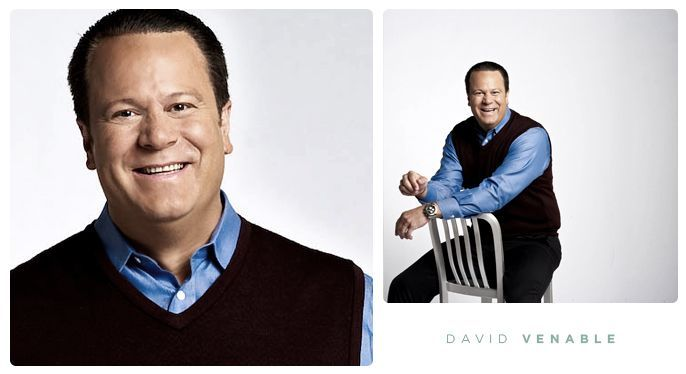 "David Venable! QVC ""In The Kitchen With David"" host......<3"