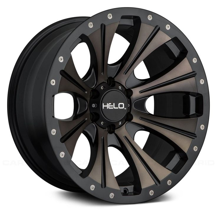 HELO® - HE901 Satin Black with Dark Tint