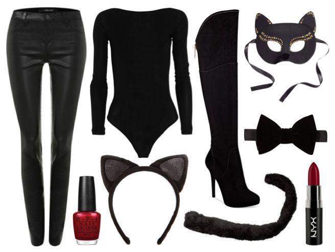Fantásticos #DisfracesCaseros para mujer, si no te dio tiempo de comprar, utiliza algo que tengas en casa y haz tu propio disfraz.