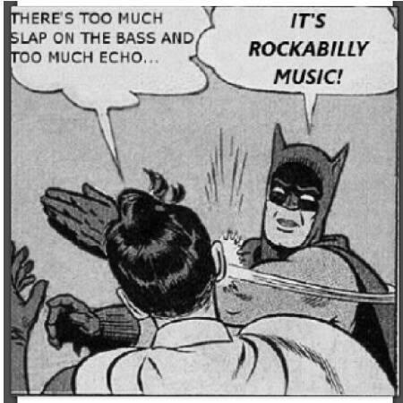 Rockabilly music