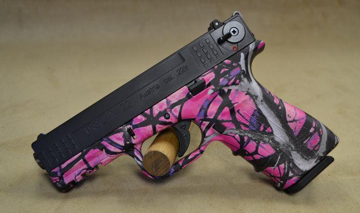 muddy girl handguns contests   ISSC111028 ISSC M22 Muddy Girl Camo - 22 LR