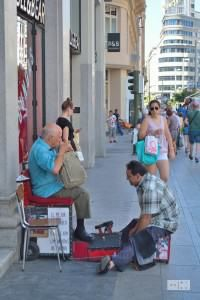 Shoe cleaner in Madrid