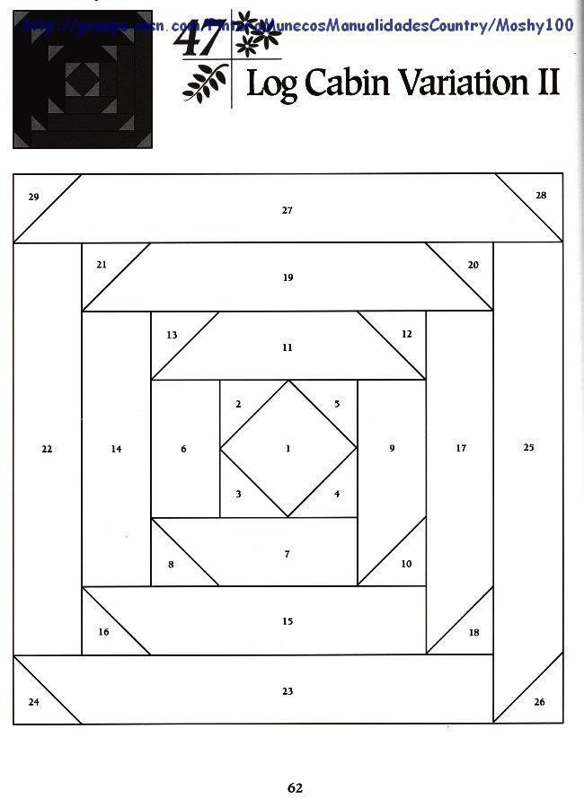 261 best 패턴 images on Pinterest | Quilt blocks, Log cabin quilts ... : tumbling blocks quilt pattern template - Adamdwight.com